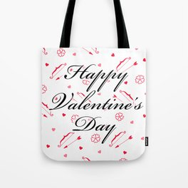Happy Valentine's Day: Cupid's Arrow Tote Bag