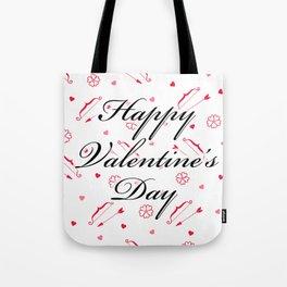 Happy Valentine's Day: Cupid's Arrow Tote Bag
