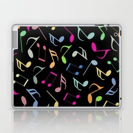 Music Colorful Notes II Laptop & iPad Skin
