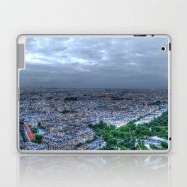 Nighttime in Paris Laptop & iPad Skin