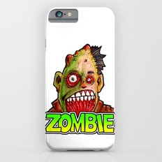 ZOMBIE title with zombie head Slim Case iPhone 6s