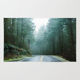 Forest Road Trip Rug