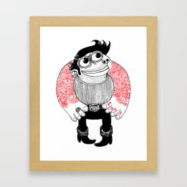 tatoo_love_maria Framed Art Print