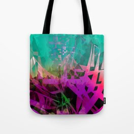 somethin' strange. in the forest Tote Bag