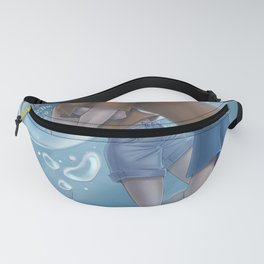 Underwater kiss  Fanny Pack