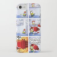 minion iPhone & iPod Cases featuring Minion by Duitk