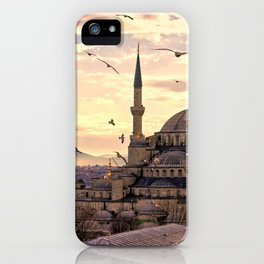 Sultan Ahmed Mosque Istanbul Turkey Ultra HD iPhone Case