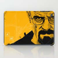 breaking bad iPad Cases featuring Breaking Bad by The Art Warriors