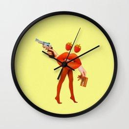 Robbery! Wall Clock