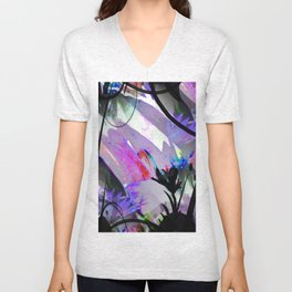 Jungle Flora Unisex V-Neck