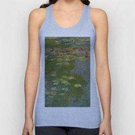 """Claude Monet """"Water Lilies"""" (15a) Unisex Tank Top"""