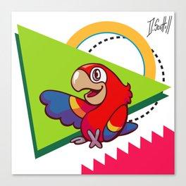Parrot Pal Canvas Print