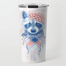 Rocco Raccoon - blue version Travel Mug
