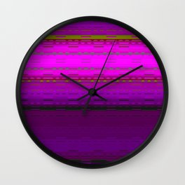 PaintedDesert 09 Wall Clock