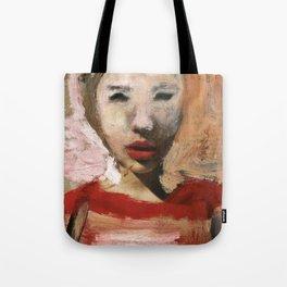 Scarlett/Newspaper Serie Tote Bag