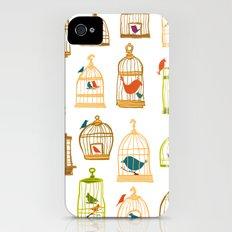 Bird Cages iPhone (4, 4s) Slim Case