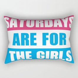 For the girls Rectangular Pillow