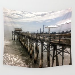 Cocoa Beach Pier Wall Tapestry