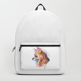 Watercolor Chihuahua Backpack