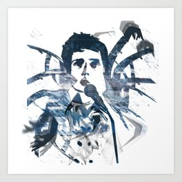 Ian Curtis - Dance Art Print