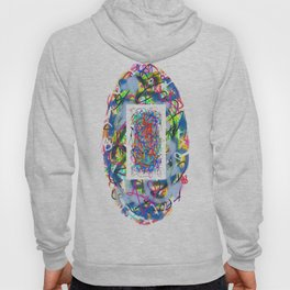 Abstract Oval Hoody