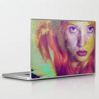 angel Laptop & iPad Skins featuring Angel by Ganech joe