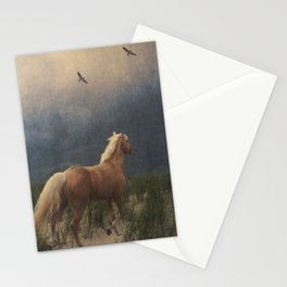 Across the sands Stationery Cards