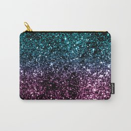 Tropical Summer Night Lady Glitter #1 #shiny #decor #art #society6 Carry-All Pouch