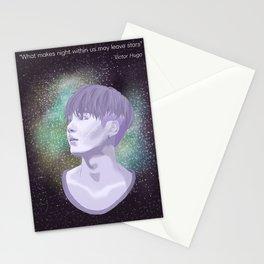 BTS Suga Galaxy Stationery Cards