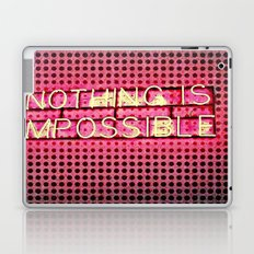 Nothing is Impossible Laptop & iPad Skin