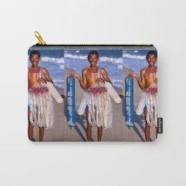 FISHERMAN - BEACH - VIETNAM - ASIA Carry-All Pouch