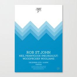 Rob Saint John Canvas Print