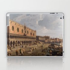Venice, The Doge's Palace and the Riva degli Schiavoni by Canaletto Laptop & iPad Skin