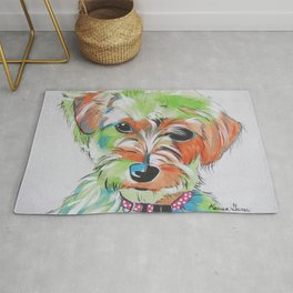 Lilybette The Morkie Rug