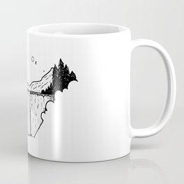 Campement dans les nuages Coffee Mug