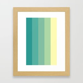 Color#1 Framed Art Print