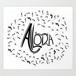 Ailoda Art Print