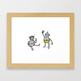 Robot Babies 1 Framed Art Print
