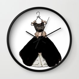 My favorite black dress Wall Clock