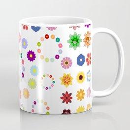 Many Flowers Coffee Mug