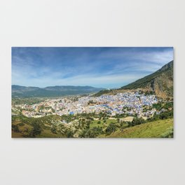 The town of Chefchaouen, Morocco Canvas Print
