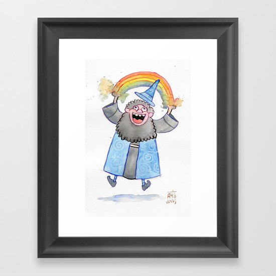 Colorspray #2 Framed Art Print