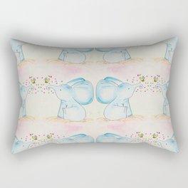 Best Friends 01- Water Color Rectangular Pillow