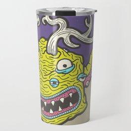 Cube Squid by Kevin Berquist Travel Mug