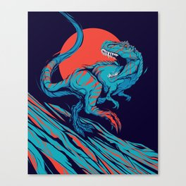 Tyrant Lizard King Canvas Print
