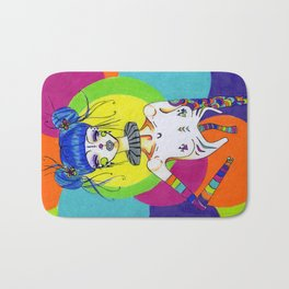 Clown Bath Mat