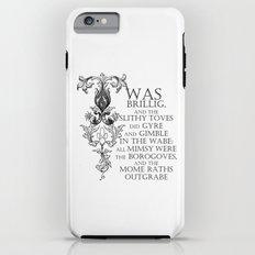 Alice In Wonderland Jabberwocky Poem Tough Case iPhone 6s Plus