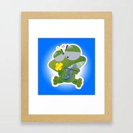 Keropi Framed Art Print