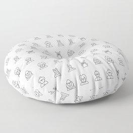 Pattern Quijote Floor Pillow