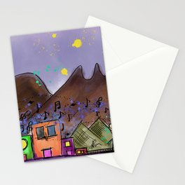 Monterrey city of mountains Stationery Cards